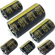Range Of Snap In Electrolytic Radial Capacitors 100uf 47000uf 25v 450v 105c
