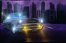 LED Bild Leuchtbild Wandbild 65 cm x 45 cm Bilder US CAR / OLDTIMER / AUTO