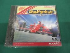NEC PC Engine HuCARD -- WORLD CIRCUIT -- JAPAN. GAME. Sealed & New. 11249