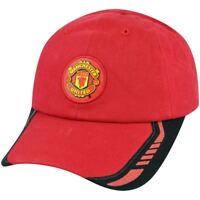Red Devils Manchester United English Premier Soccer Futbol Hat Cap Clip Buckle