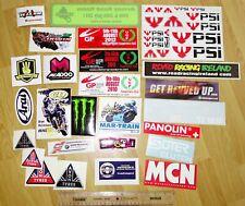 More details for 26x road racing motorcycle bike stickers nw200 ugp tt mcn avon arai psi ireland