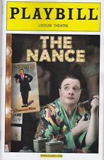 Playbill - The Nance - June 2013 - Nathan Lane on color cover, plus flyer