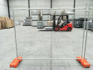 Temporary Fencing Panel Clamp Base Temp Construction Galvanised Temp fence Panel