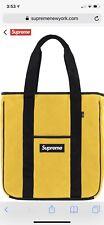 Supreme FW18 Polartec Tote Bag Yellow