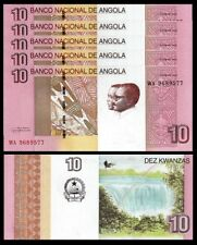ANGOLA 10 KWANZAS 2012 (2017) UNC CONSECUTIVE 5 PCS LOT P.NEW