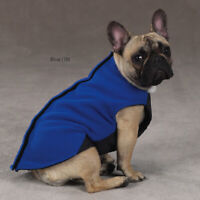 Zack and Zoey Blue Winter Ripstop Vest Jacket Coat Sweater Clothes For Dog Pet