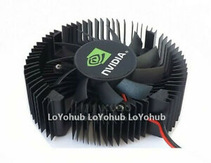 New NVIDIA GT430 Graphics Card Fan 43mm Pitch Graphics Card Cooler 2-Pin