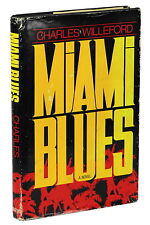 Miami Blues by CHARLES WILLEFORD ~ First Edition 1984 ~ Hoke Moseley 1st