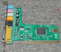 CMedia CMI8738/PCI-6ch-LX EC-SC73861 5.1 PCI sound card FULL WORK SC-5.1-1