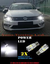 LUCI POSIZIONE VW PASSAT 3C B7 CANBUS T10 BIANCO 6 LED SUPER QUALITA