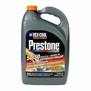 Prestone AF850/1F Dex-Cool 50/50 Prediluted Extended Life Antifreeze/Coolant