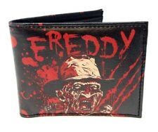 A NIGHTMARE ON ELM STREET FREDDY KRUEGER SUBLIMATED GRAPHIC PRINT BIFOLD WALLET