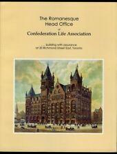 ROMANESQUE HEAD OFFICE OF CONFEDERATION LIFE ASSOCIATION Building TORONTO 1992