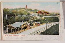 26241 AK Gruß vom Weinberg-Gotzlow Bahnhof Pommern Szczecin Kr. Randow 1904
