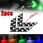 2Pcs Car Side Rear View Mirror LED 14 SMD Lamp Turn Signal Light Accessories LI Alfa Romeo 156