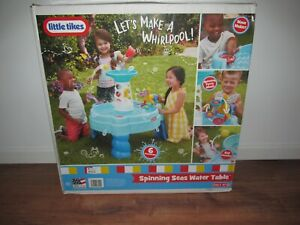 LITTLE TIKES SPINNING SEAS WATER TABLE WATER TOY NEW IN BOX