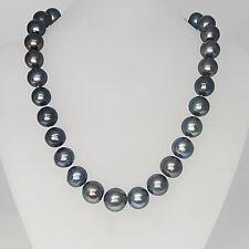 Tahiti Pelenkette Perlencollier Ø 7,6mm-10,5mm mit Magnetverschluß