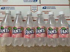 Japanese Fanta White Peach Bottle Lot Of 6 - VERY RARE - Imported Soda Drink