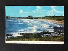 Vintage RPPC: Cornwall: #T65: Fistral Beach? Newquay
