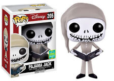 "SCE EXCLUSIVE PAJAMA JACK SKELLINGTON 3.75"" VINYL POP FIGURE FUNKO BRAND NEW"