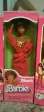 VINTAGE BLACK BARBIE NRFB FIRST AFRICAN AMERICAN BARBIE DOLL STEFFIE FACE CUTE