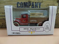 ERTL Collectibles Anheuser Busch Budweiser 1931 HAWKEYE Delivery Truck Bank NEW