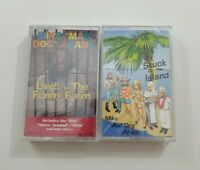 Mike Mad Dog Adams Cassette Lot - Live at the Funny Farm - Stuck on the Island