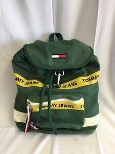Tommy Hilfiger/ Tommy Jeans Canvas  Backpack Rucksack - T2