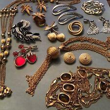 Vintage Jewelry Estate Lot Sarah Cov. SETS Rhinestones Earrings Brooches