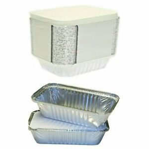 Takeaway Foil Food Containers With Lids Foil Trays With Lids Sizes No1, No2, 6A