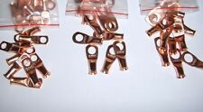 """(6) 3/8"""" 5/16"""" 1/4""""Wire Ring Terminal Copper 6 Awg Gauge Connectors Terminals"""