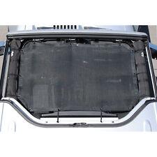 Opar Black Mesh Bikini Top Cover Provides UV Protection 4 Jeep Wrangler JK 07-17