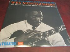 WES MONTGOMERY THE INCREDIBLE JAZZ GUITAR OF WES STEREO RIVERSIDE NO BARCODE LP