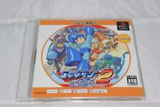 Rockman/Megaman 2 PS1 Japan Import North American Seller Game and Manual Only