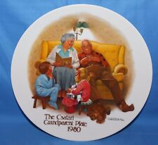 Collector Plate The Csatari Grandparent Plate 1980 Knowles Collection