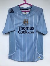 MANCHESTER CITY 2007 2008 LE COQ SPORTIF HOME FOOTBALL SHIRT JERSEY BLUE
