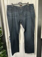 ED BAXTER London Size 48R Mens Jeans Dark Blue