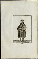 Portrait de Jean Calvin. Gravure ancienne
