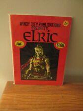 Elric Windy City Comics Presents 1 1973 VF Rare First Comic Scarce