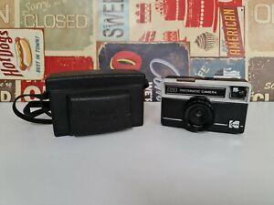 Vintage Retro Kodak Instamatic Camera 77X With Official Case - Film Reel Camera