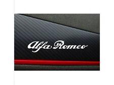 4x Alfa Romeo Armaturaufkleber Aufkleber Logo Cut Vinylselbstklebe 12cm