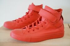 Converse Chuck Taylor All Stars Hi Womens Boots Trainers Size UK 4.5 Red P29