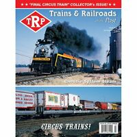 TRP: Chessie STEAM SPECIAL / CIRCUS TRAINS / Trainmen on Freight Cars -- (NEW)