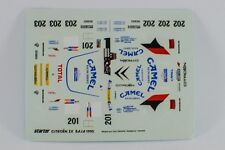 DECAL CALCA 1/43 Citroën ZX #201/#202/#203 Baja 1990