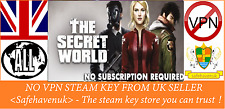 The Secret World Steam key no VPN Region Free UK Verkäufer