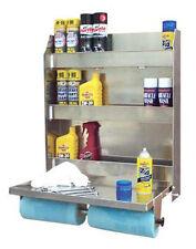 Wall Mount Storage Organizer Shelving Work Bench Table Counter Tool Box Garage
