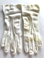 Vintage White Women's Gloves in Original Bergman's Box with Tags White Gloves
