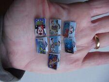 Set DVD boxes. Toy Story, Monster INC, Nemo, Bambi, Mermaid,... 7 pcs.
