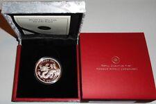 Canada 15 Dollars 1 Oz Siber Drache 2012 PP im Etui