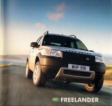 Land Rover Freelander 2002-03 UK Market Brochure S Serengeti Kalahari ES Premium
